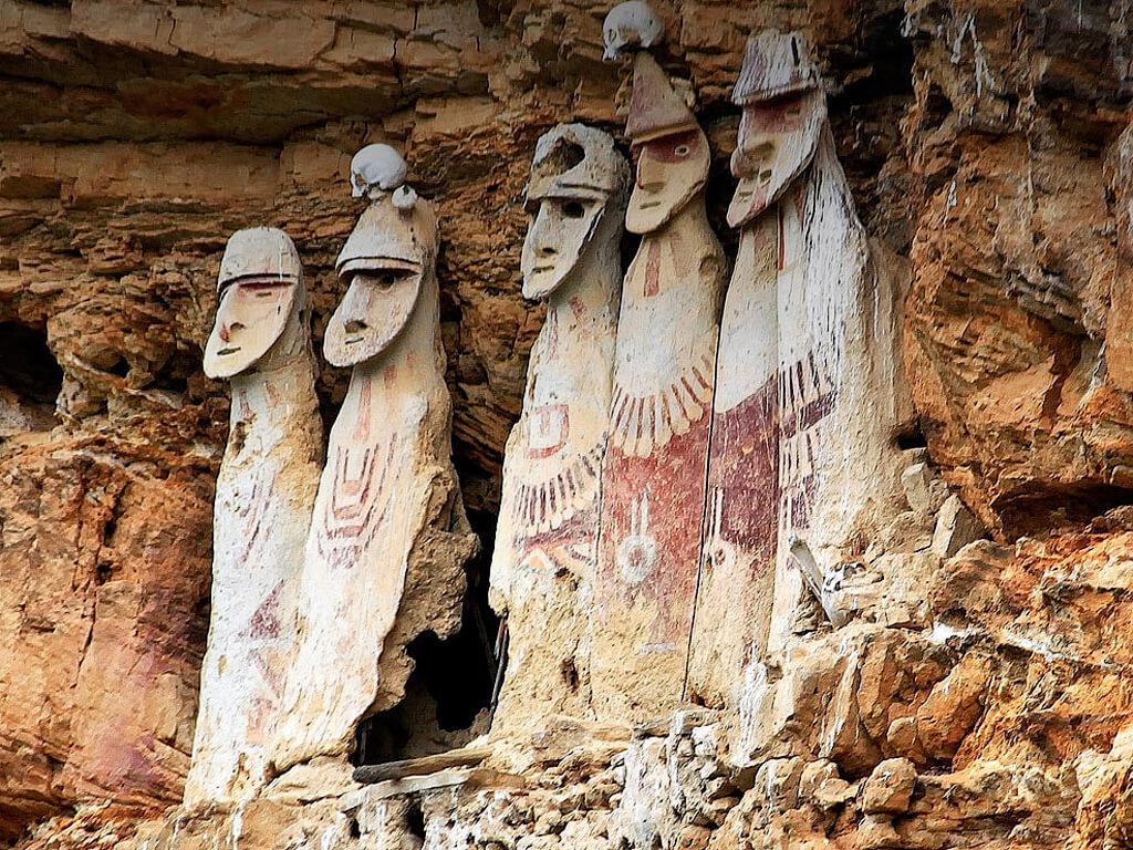 Archéologie à Chachapoyas au Pérou