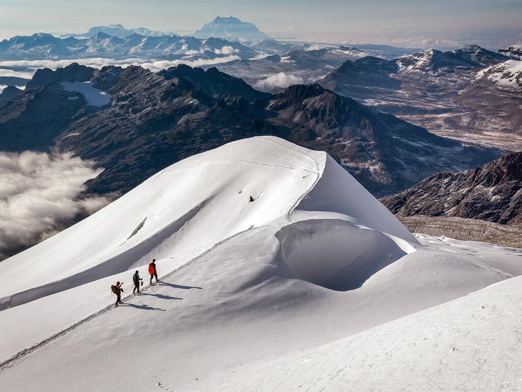 Ascension de Huayna Potosi en Bolivie