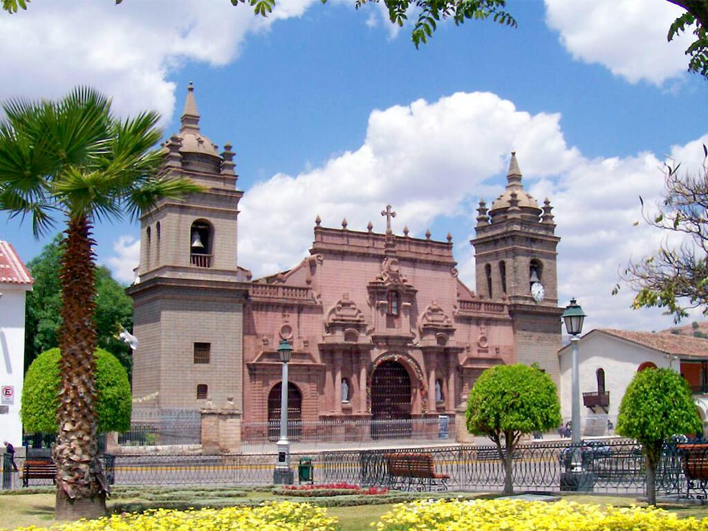 Basilique Santa Maria à Ayacucho Pérou