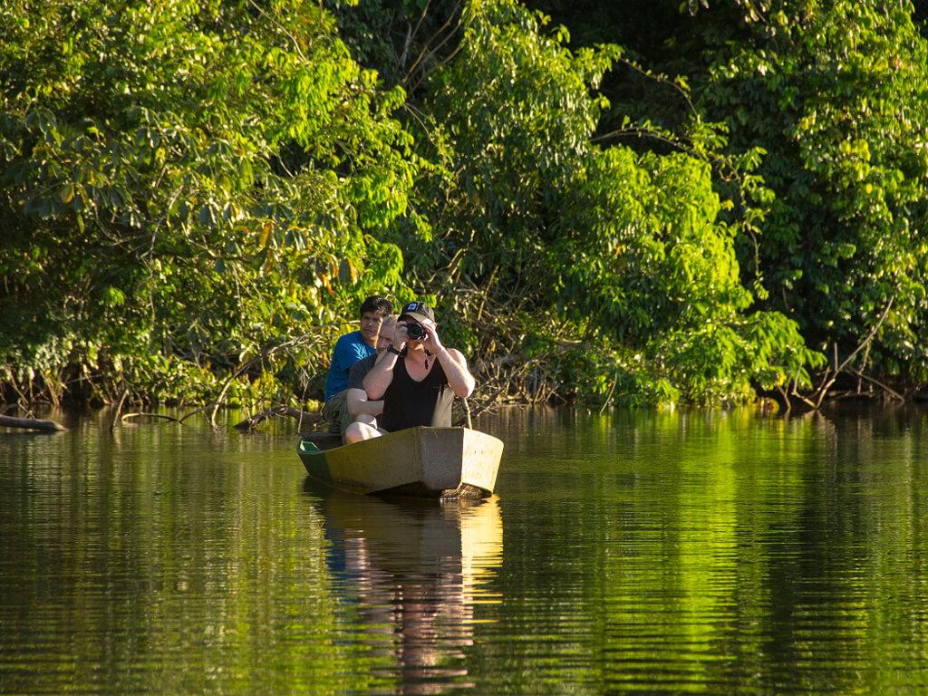 Le Parc national Madidi en Canoë