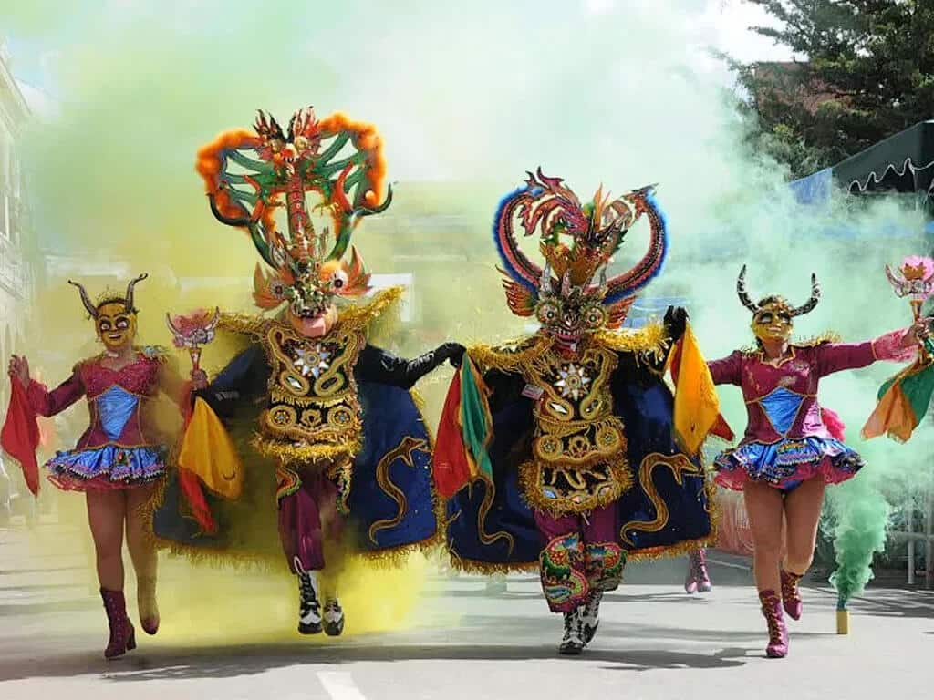 Carnaval d'Oruro en Bolivie