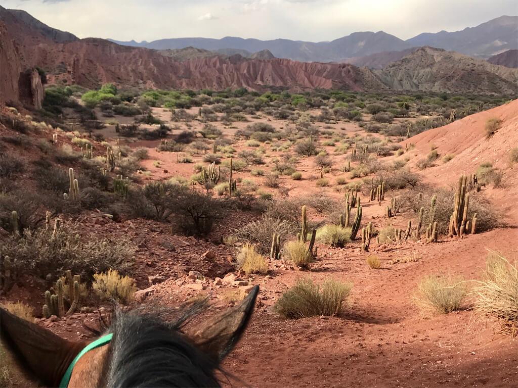 Chevauchées à Tupiza en Bolivie