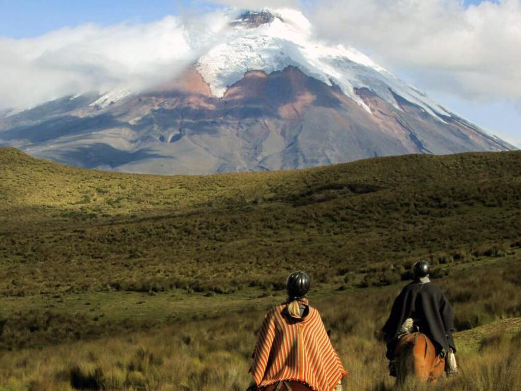 Chevauchées au plus près des volcans en Équateur