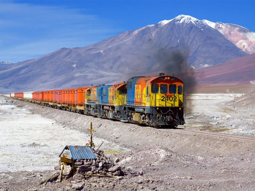 Du Chili à la Bolivie en train