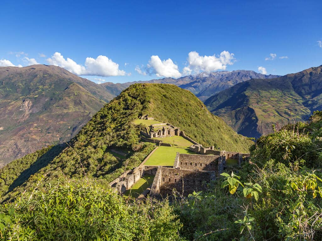 Citadelle de Choquequirao au Pérou, la sœur de Machu Picchu