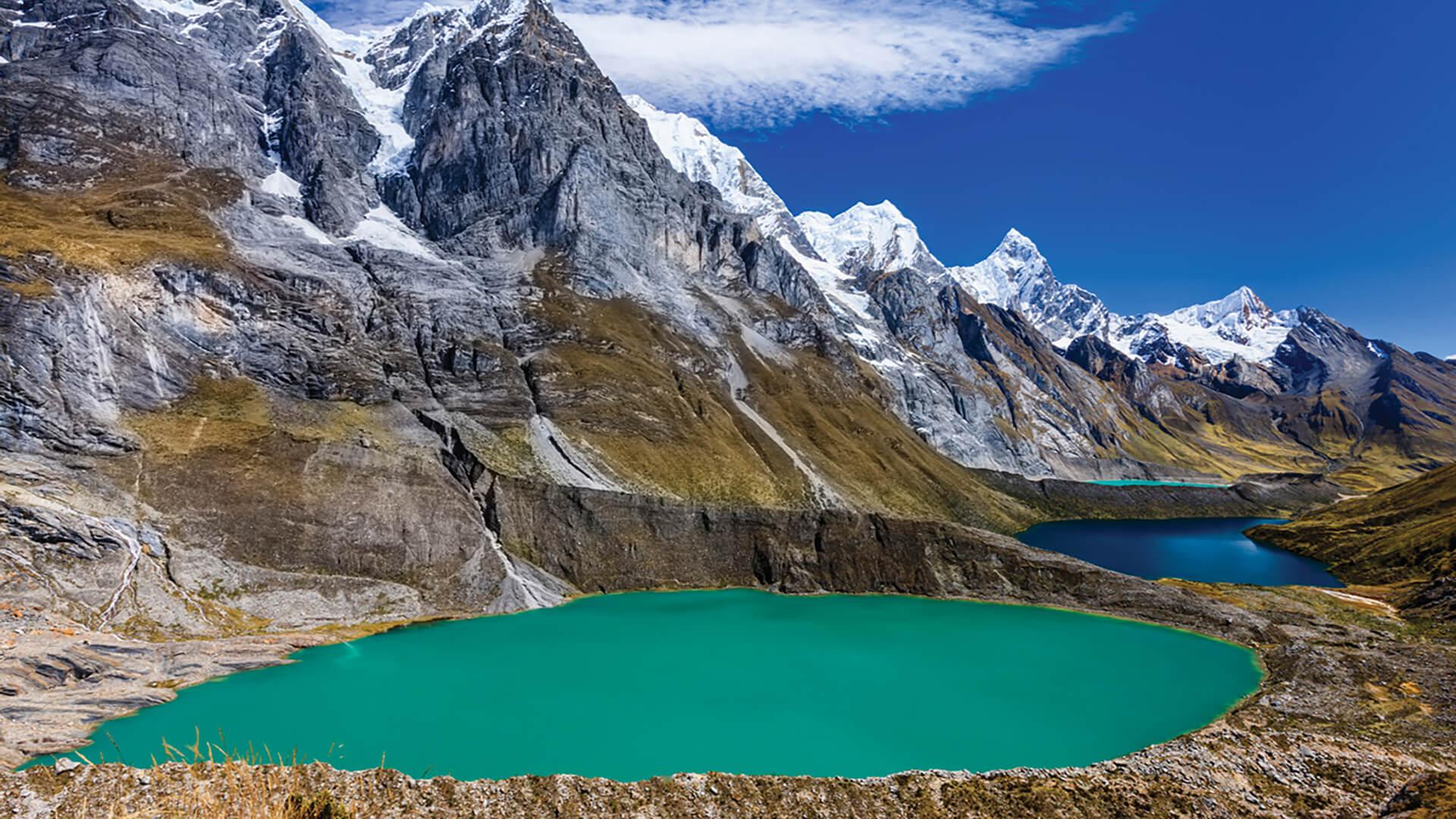 Cordillère Blanche au Pérou