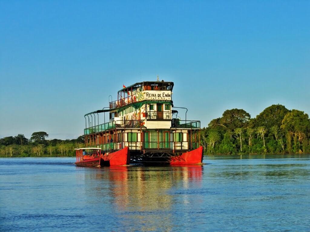 Croisière avec La Reina de Enin sur l'Amazone en Bolivie
