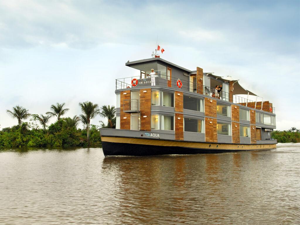 Croisières avec le M/V Aqua sur l'Amazone au Pérou