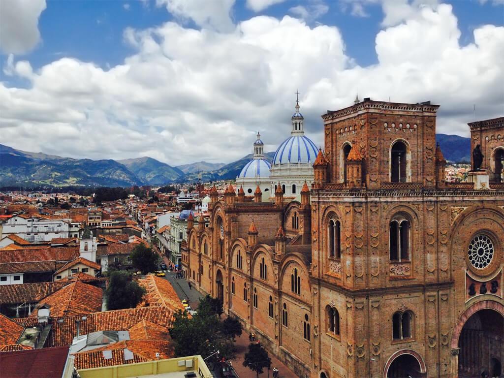 Ville pittoresque de Cuenca en Équateur