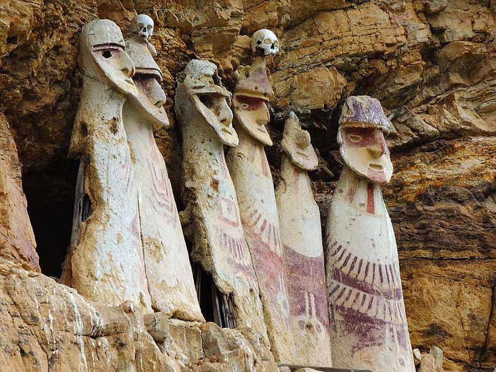 Archéologie Culture Chachapoyas à Kuélap au Pérou