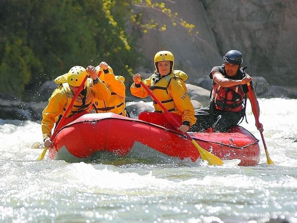 Descente en rafting de la rivière Colca au Pérou