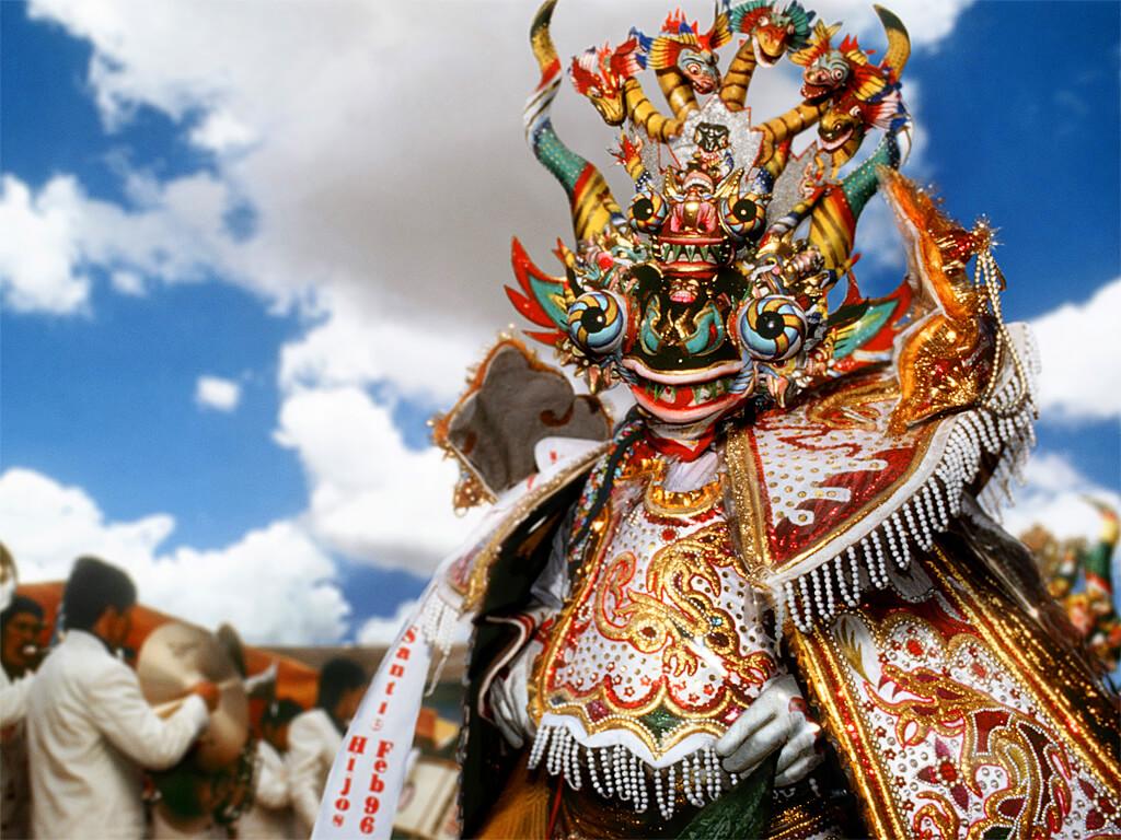 Festival de Candelaria en l'honneur de la Vierge à Puno