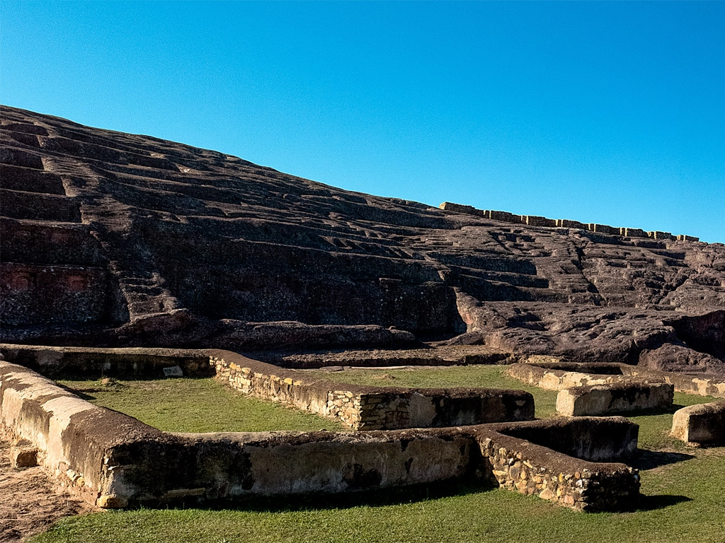 Fort de Samaipata en Bolivie