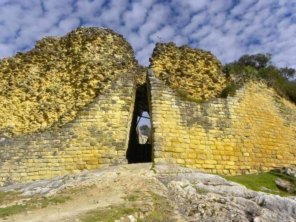 Forteresse de Kuélap de la culture Chachapoyas au Pérou
