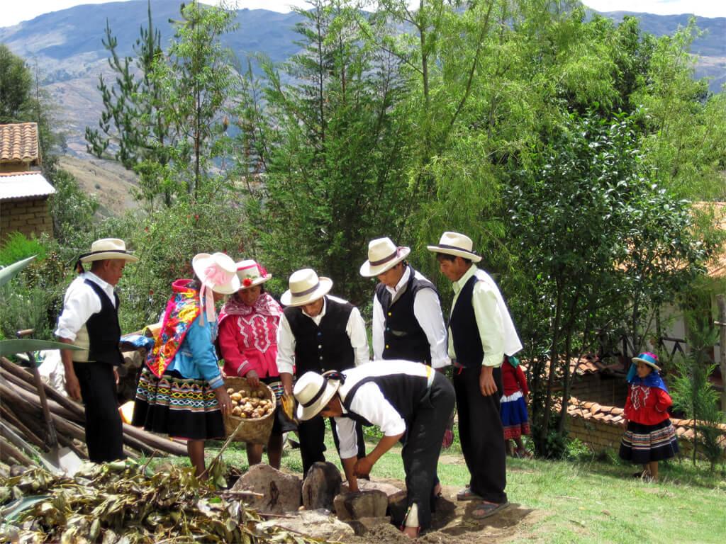 Gastronomie et cuisine traditionnelle Vicos au Pérou