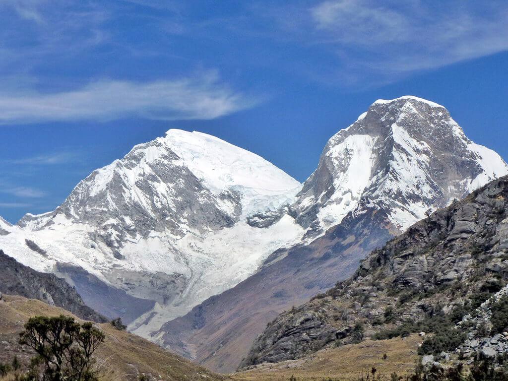 Huascarán de la Cordillère Blanche au Pérou
