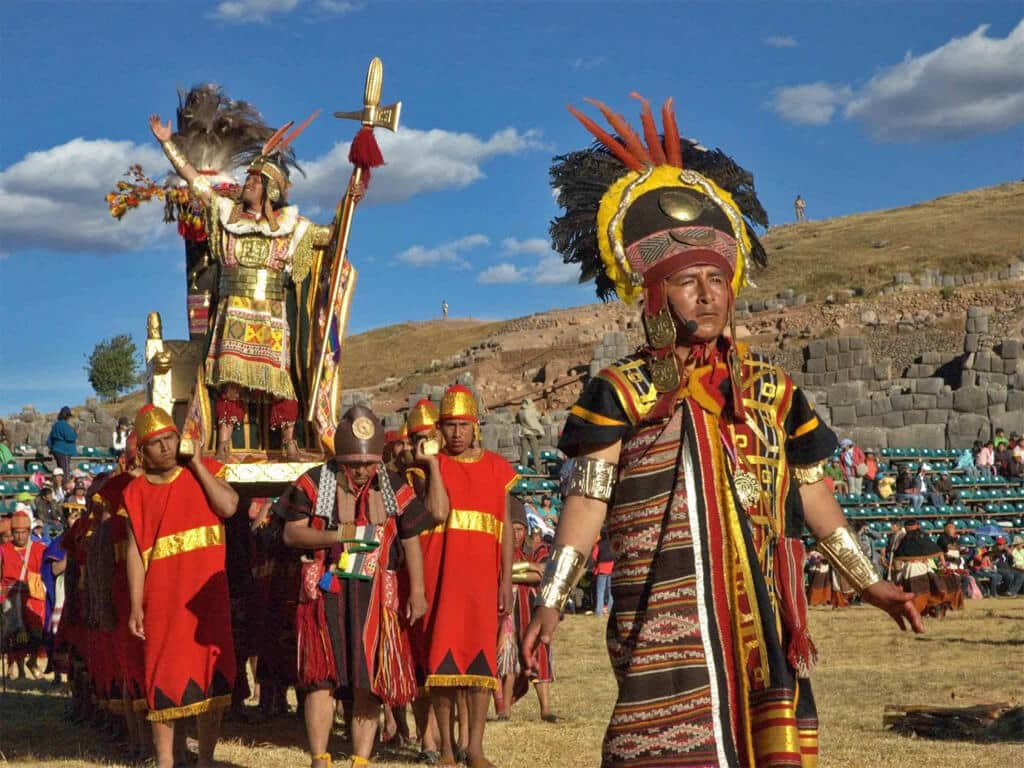 Inti Raymi à Cuzco