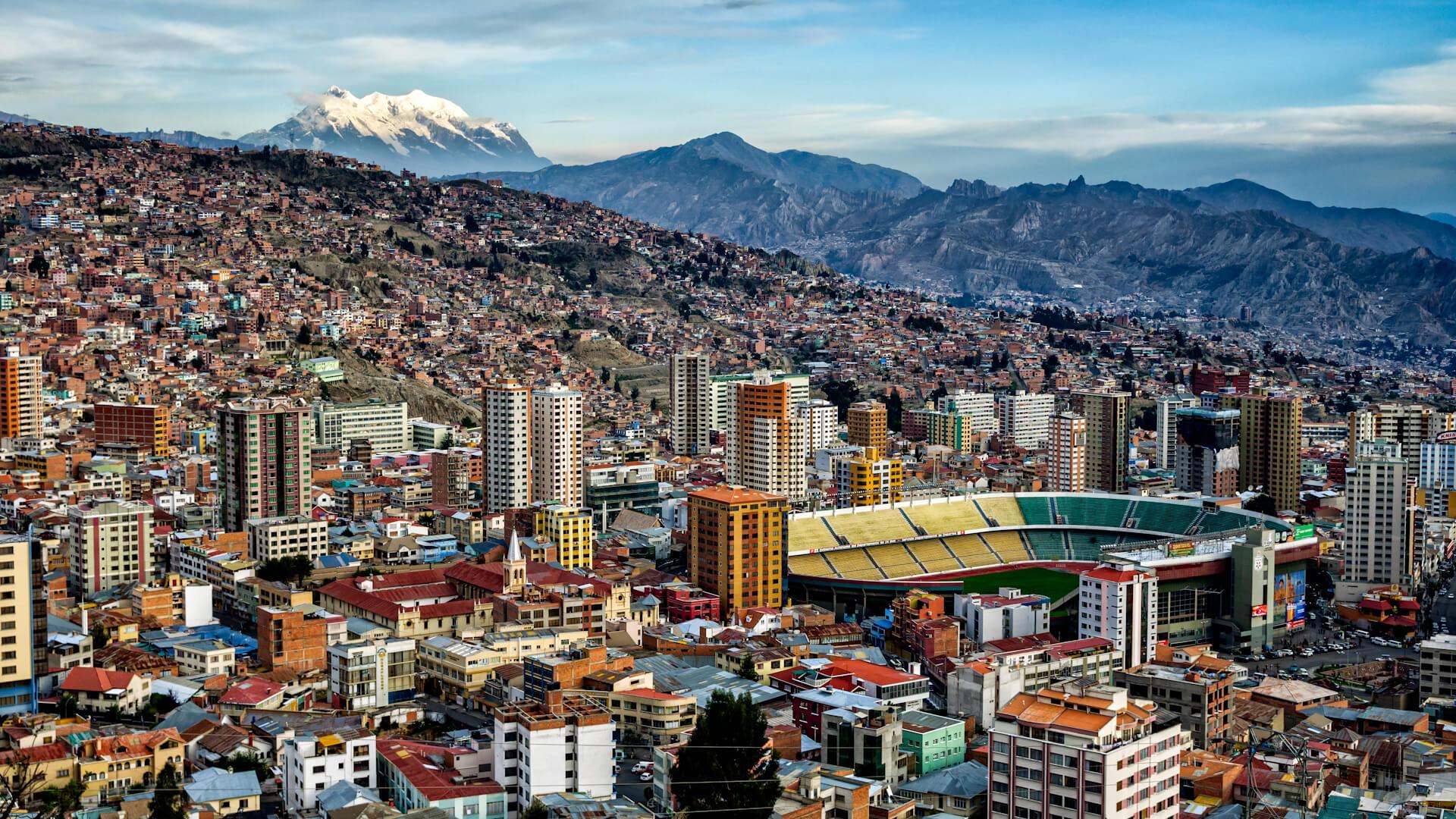 La Paz, ville étourdissante de Bolivie