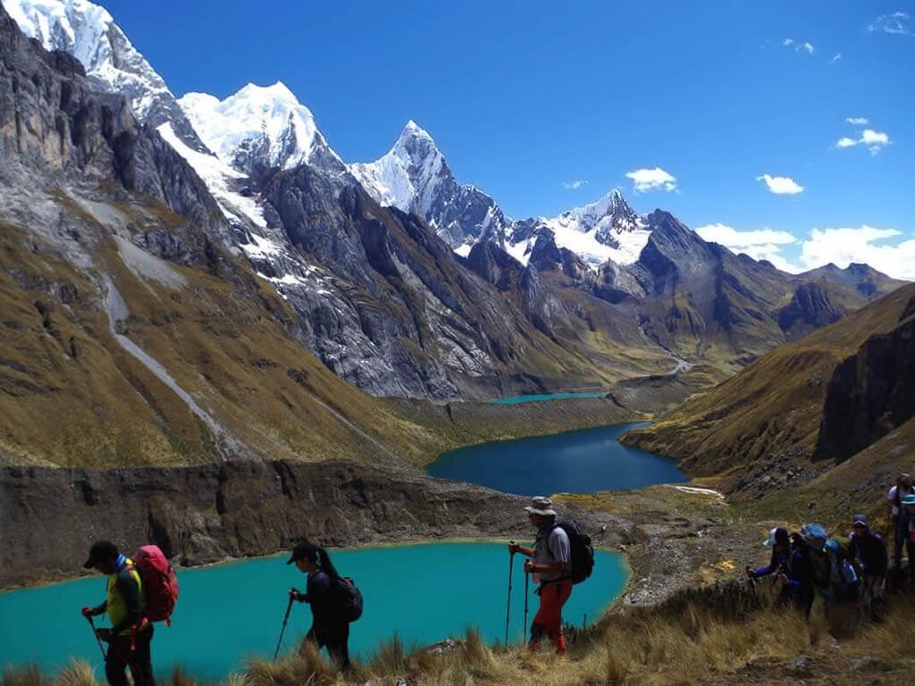 Les 3 Lagunes de la Cordillère Huayhuash au Pérou