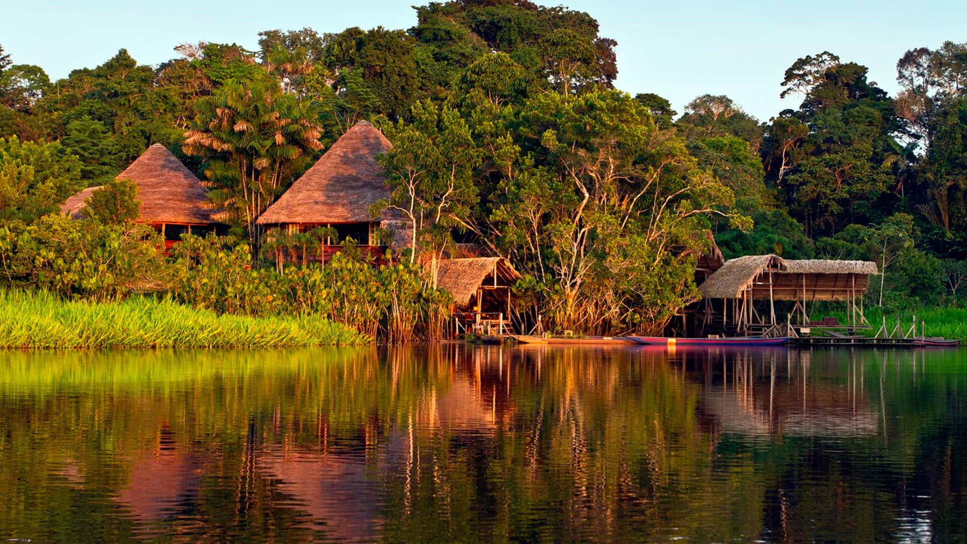 Lodge en Amazonie équatorienne