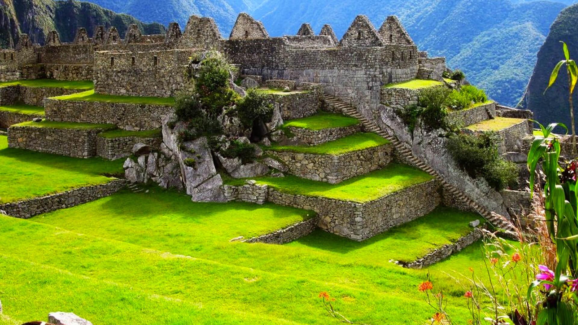 Le Machu Picchu, dans la province d'Urubamba à Cuzco