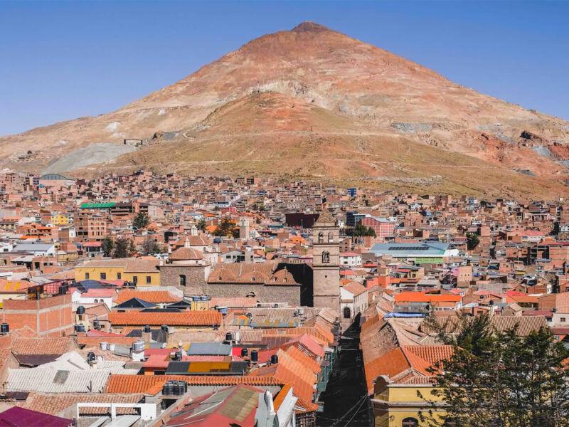 Potosí et ses mines d'argent