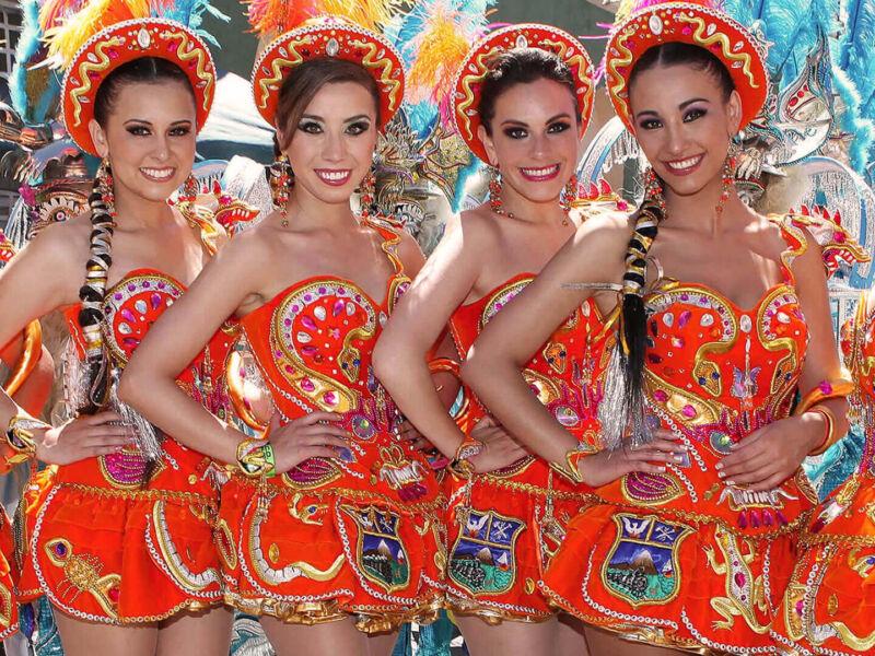 Le carnaval traditionnel d'Oruro en Bolivie
