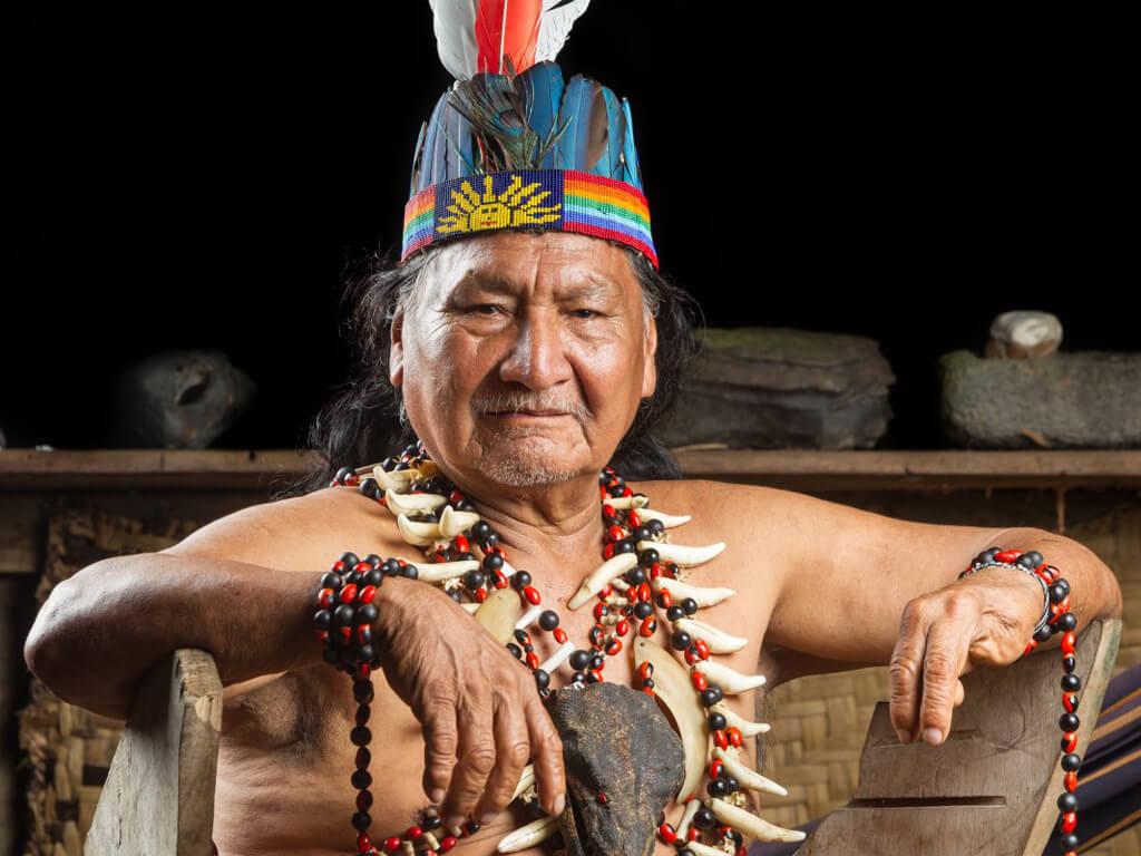 Le Chaman d'Amazonie
