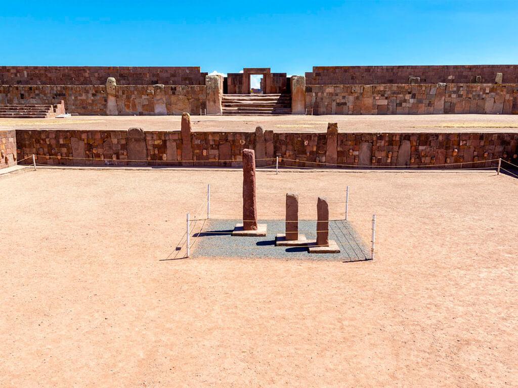 Cité de Tiahuanaco en Bolivie