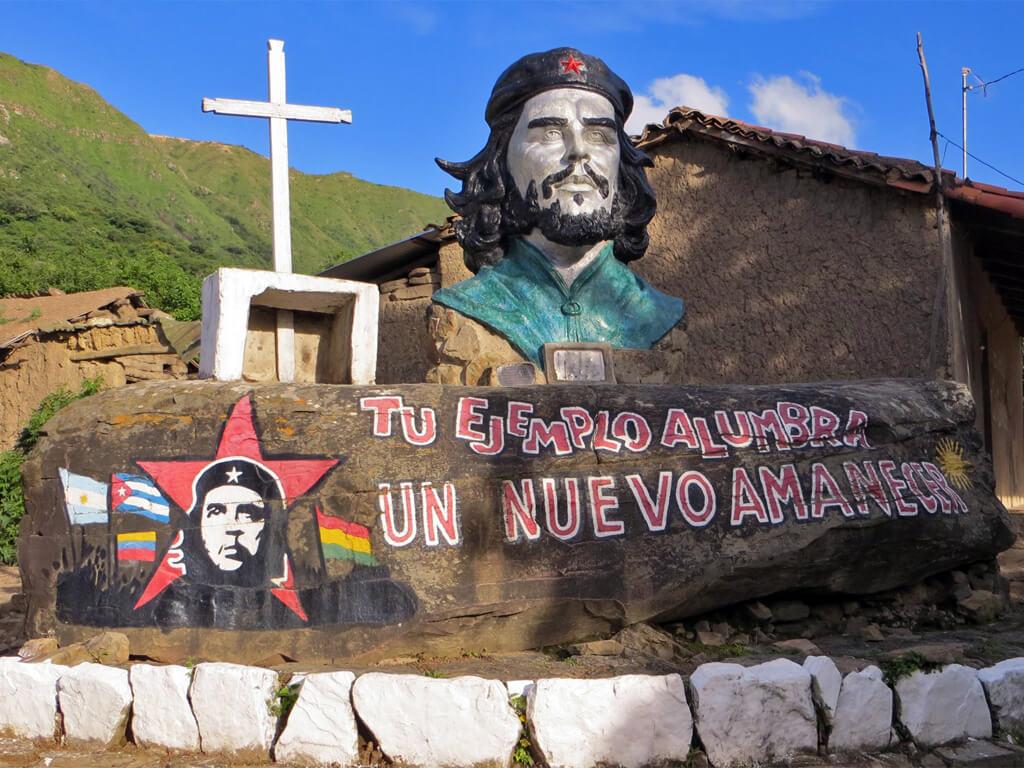 Hommage un peu partout en Amérique du Sud du Commandant Che Guevara