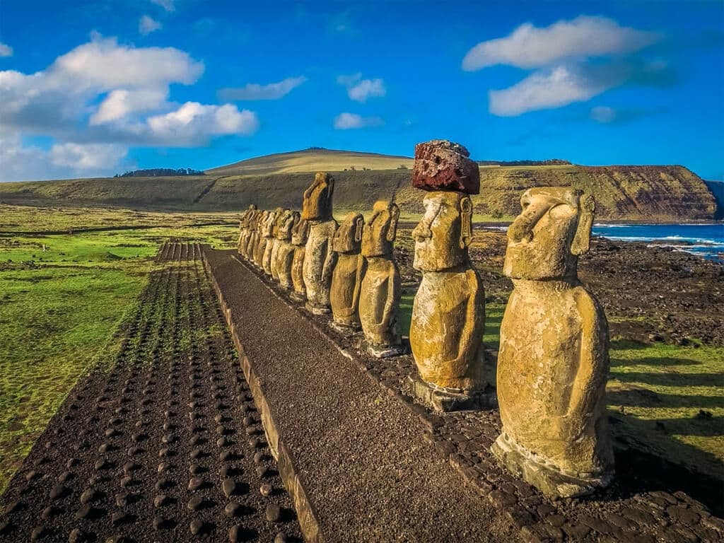 L'Île de Pâques et ses Moai