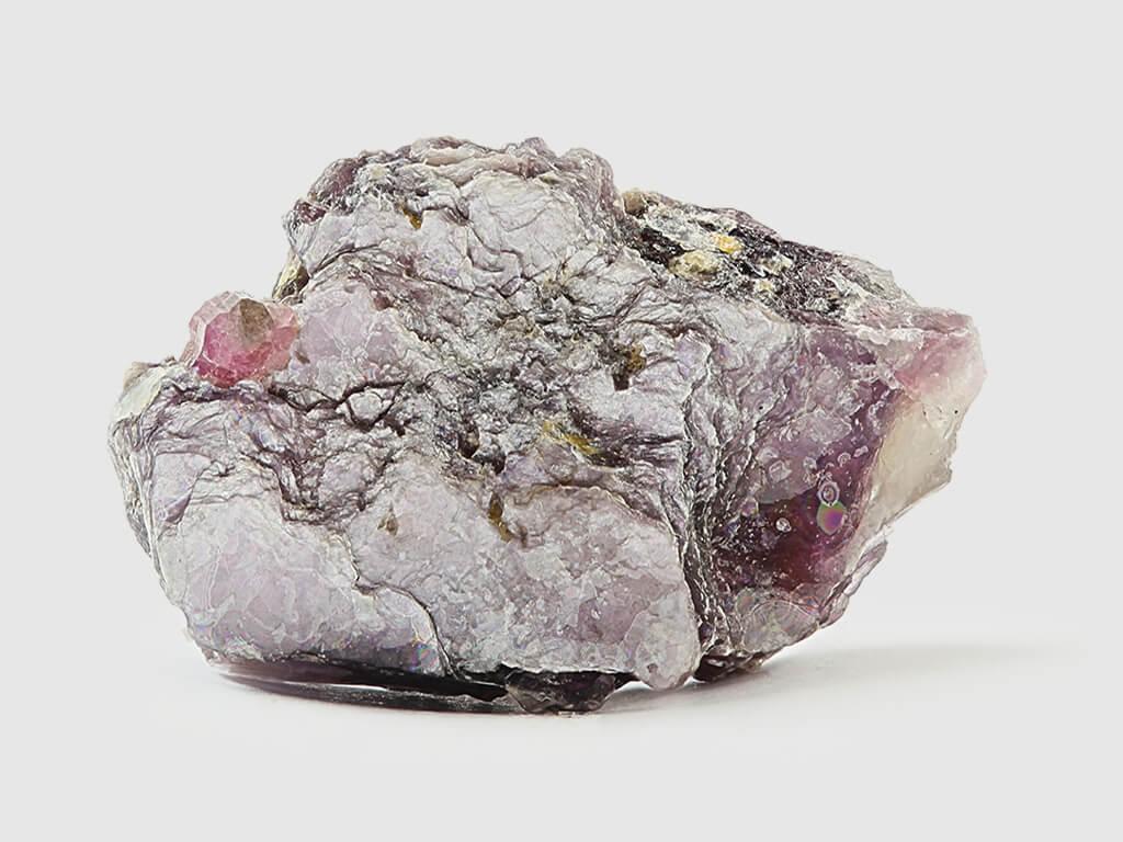 Minerai contenant du lithium, l'or blanc de la Bolivie