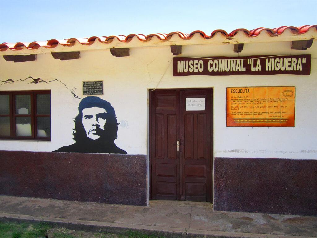 Musée communal La Higuera en Bolivie, dédié au Commandant Che Guevara