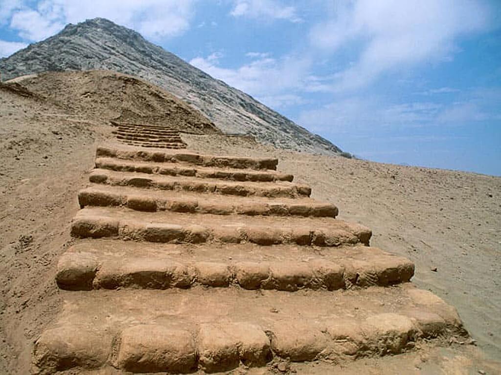 Temple de la Lune à Trujillo au Pérou