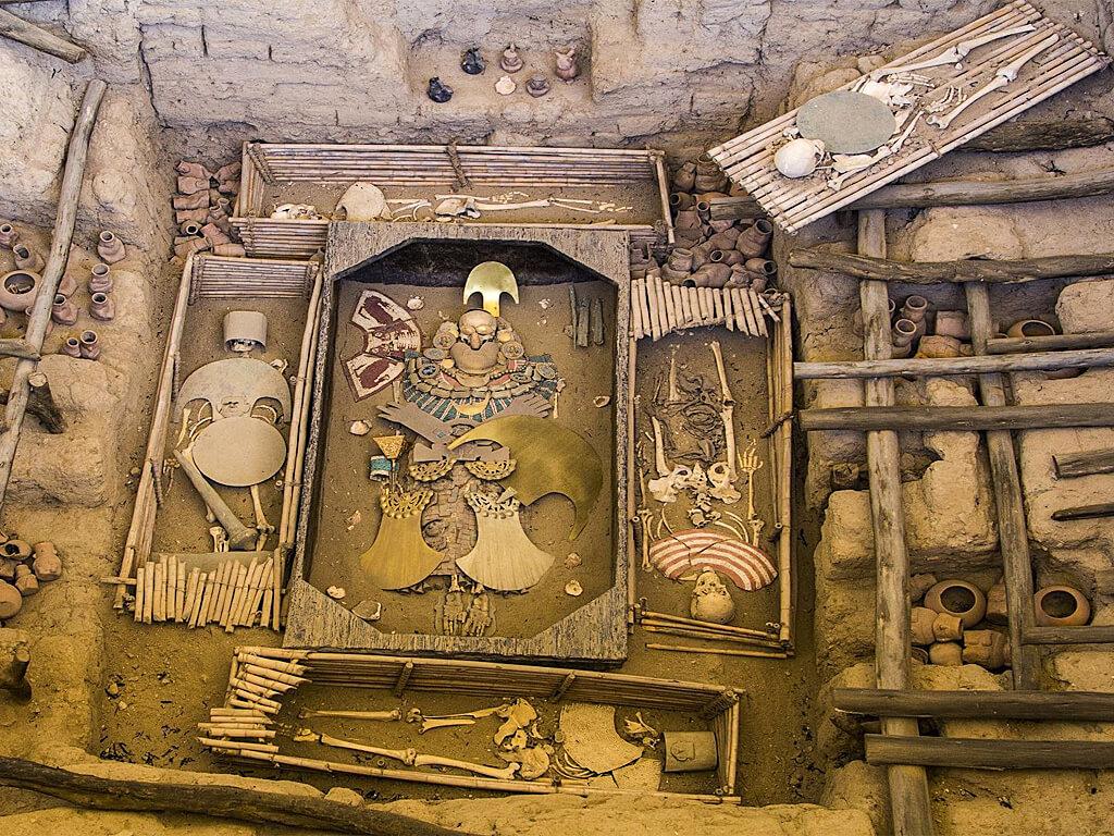Tombe Royale du Seigneur de Sipán à Trujillo au Pérou