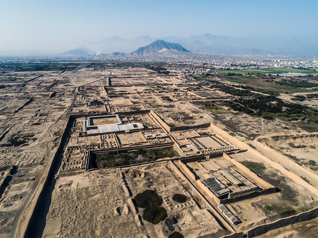 Vestiges de la civilisation Moche au Pérou