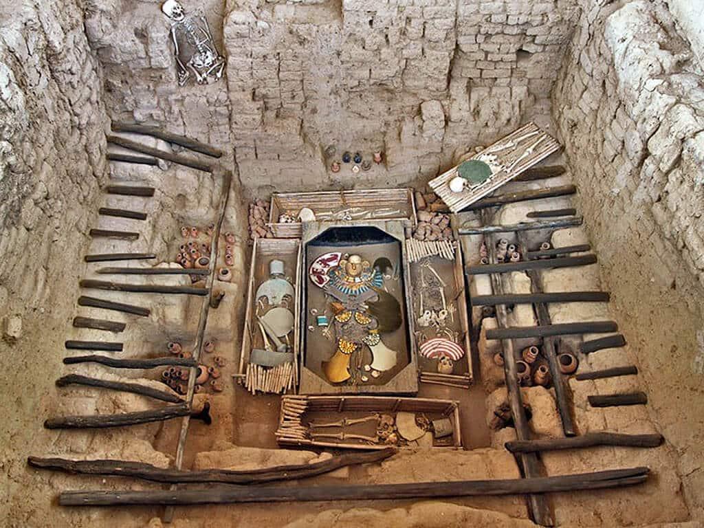 Mausolée du Seigneur de Sipán au Pérou