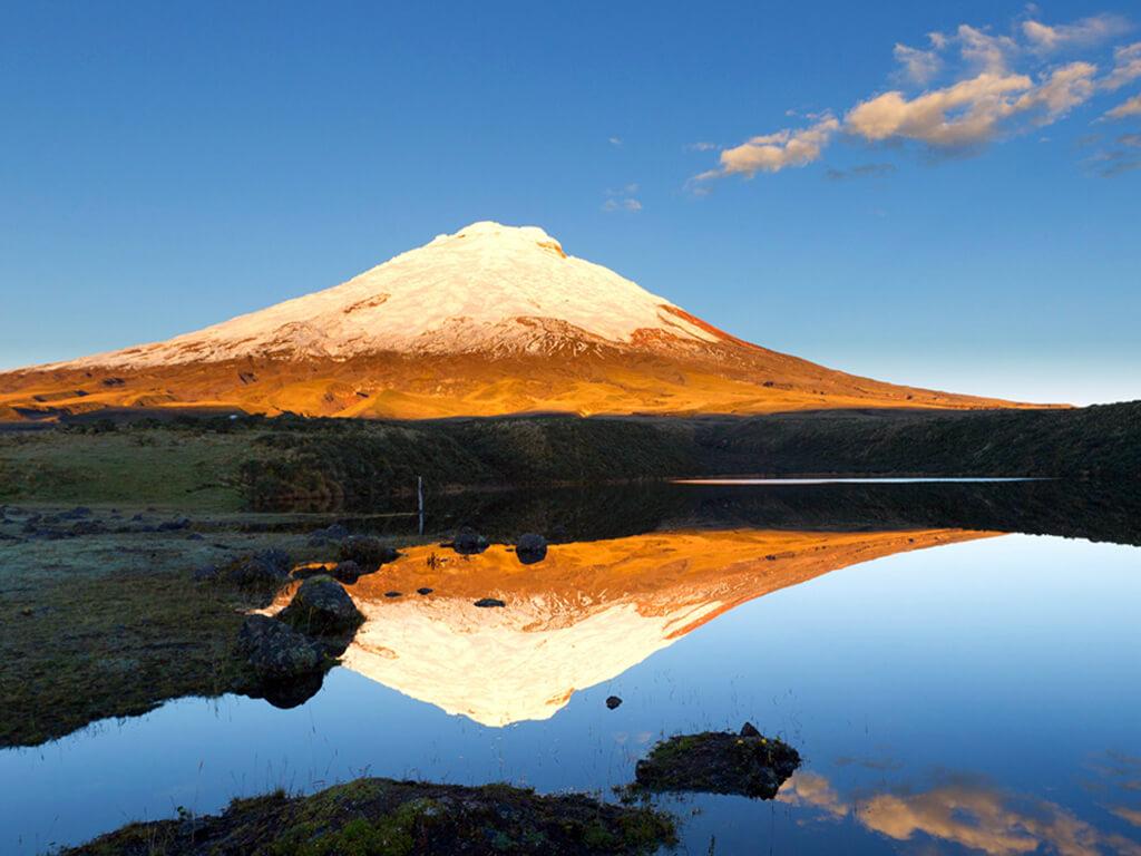 Séances de méditation dans le Parc National du Cotopaxi en Équateur