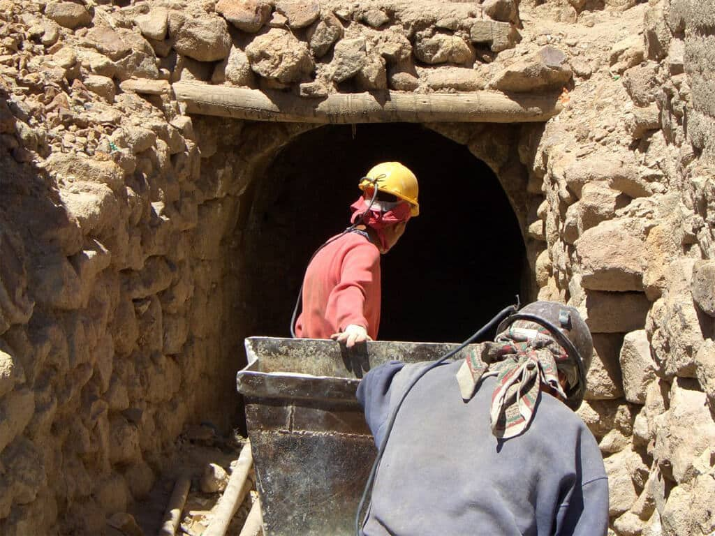 Les mines d'argent de Potosi en Bolivie