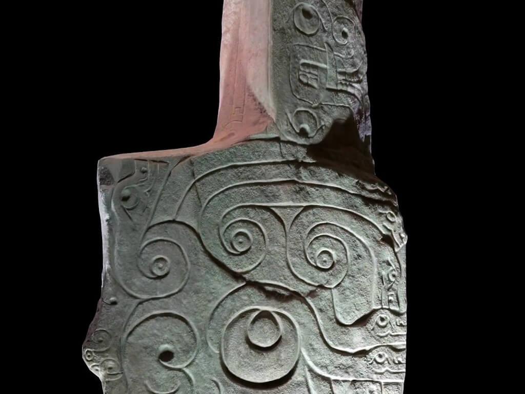 Monolithe Lanzón de Chavín, Pérou