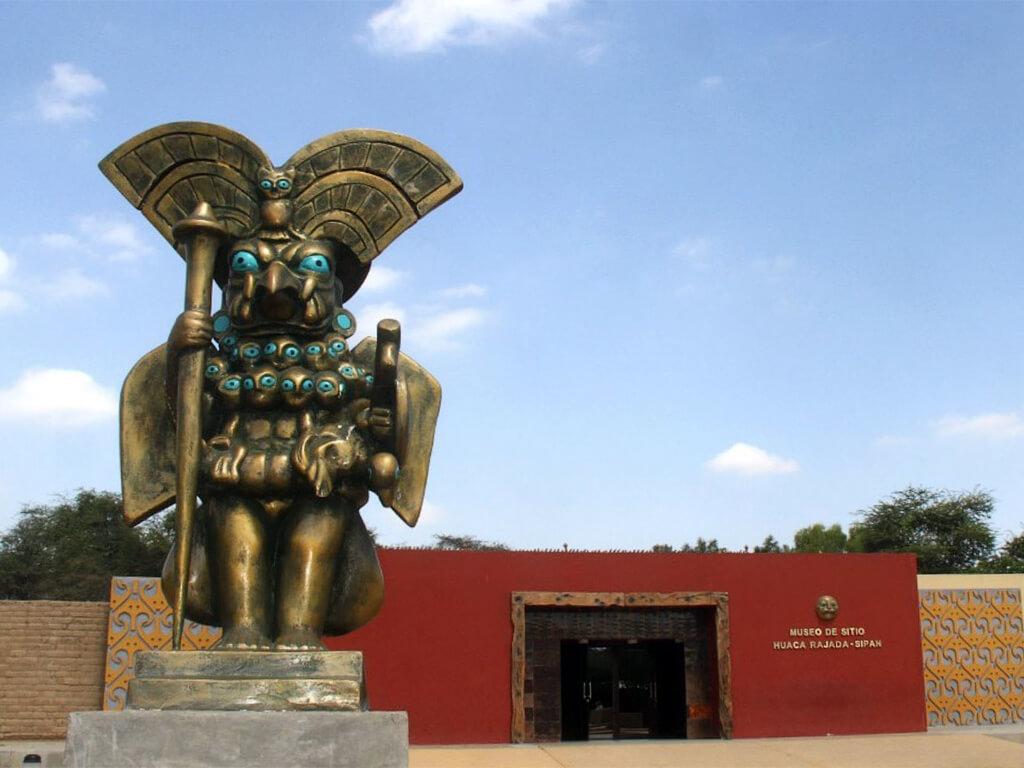 Musée Huaca Rajada Sipán au Pérou