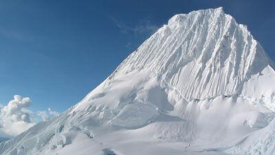 La cordillère blanche au Nord des Andes du Pérou