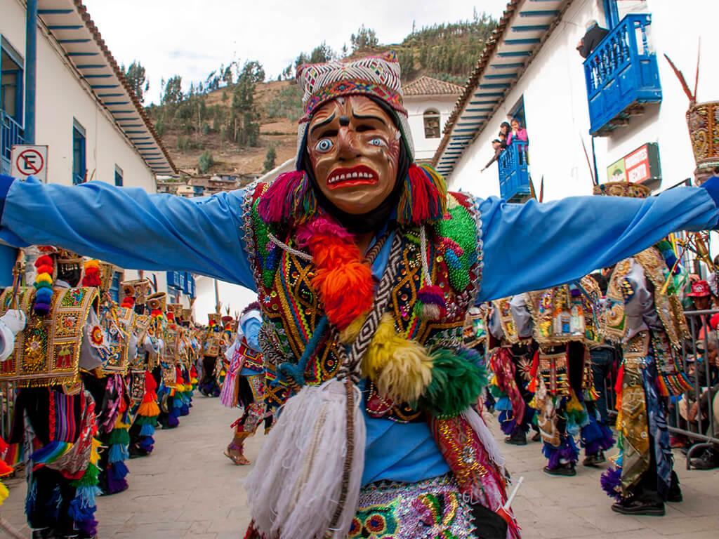 Parades du festival de Paucartambo