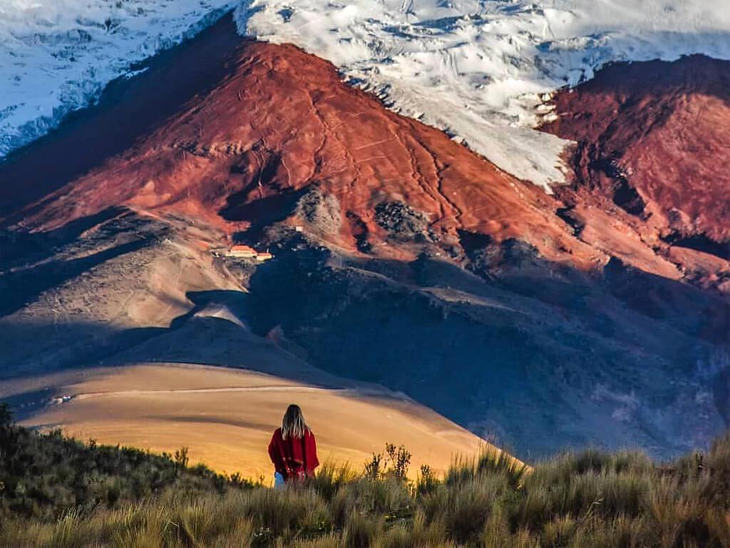 Parc National Cotopaxi en Équateur