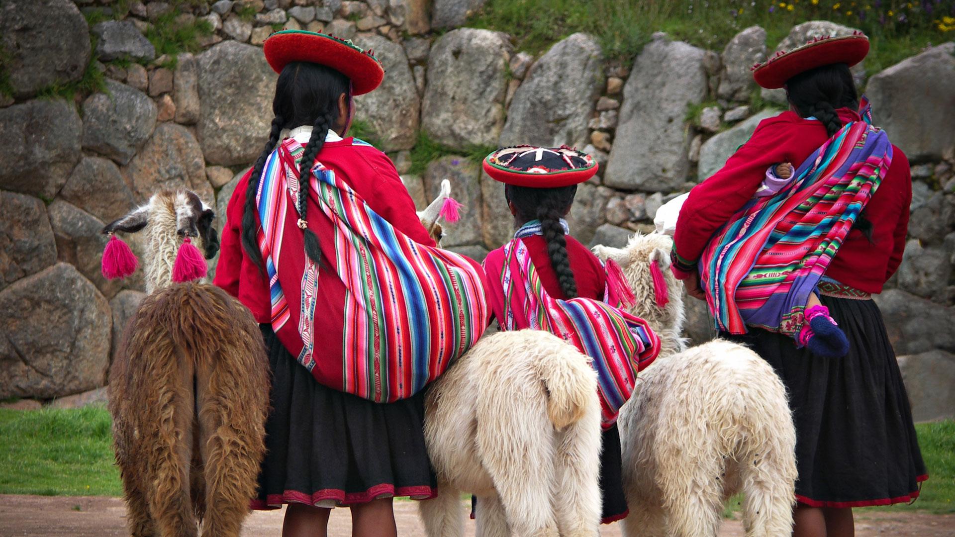 Femmes traditionnelles au Pérou