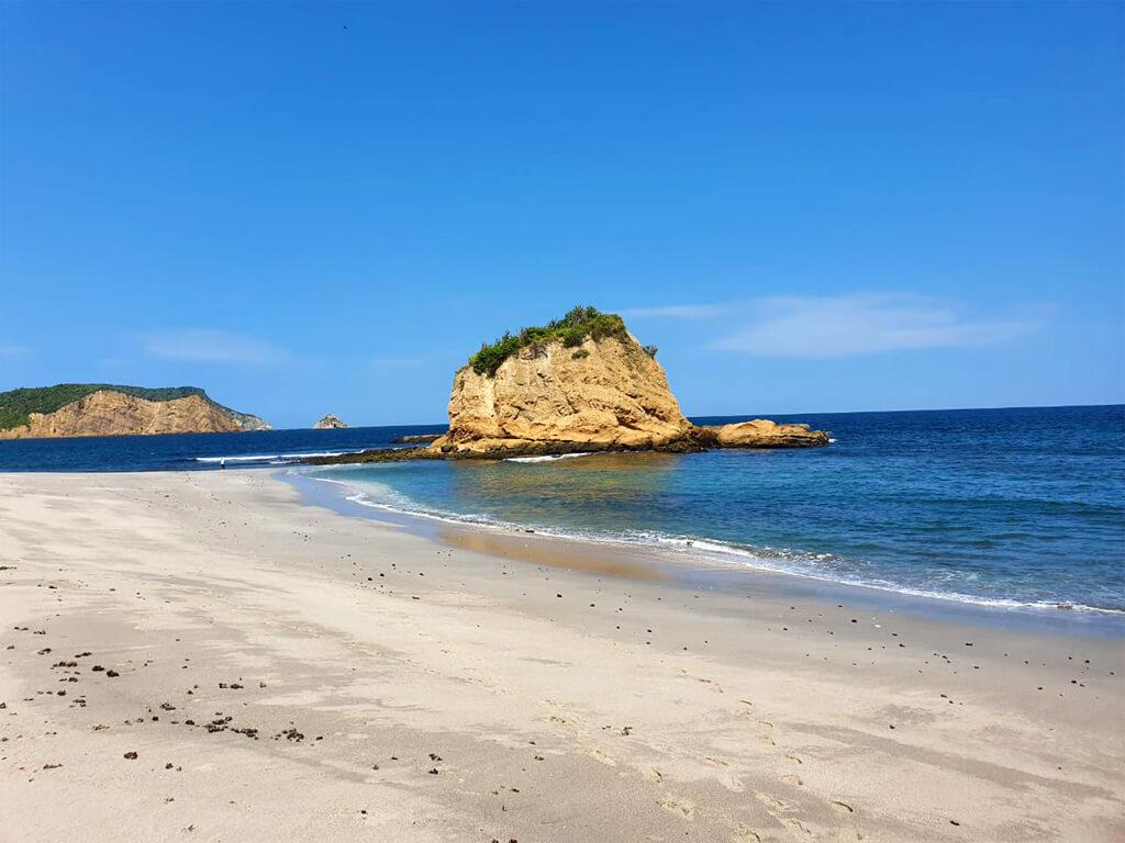 Playa de los Frailes en Équateur