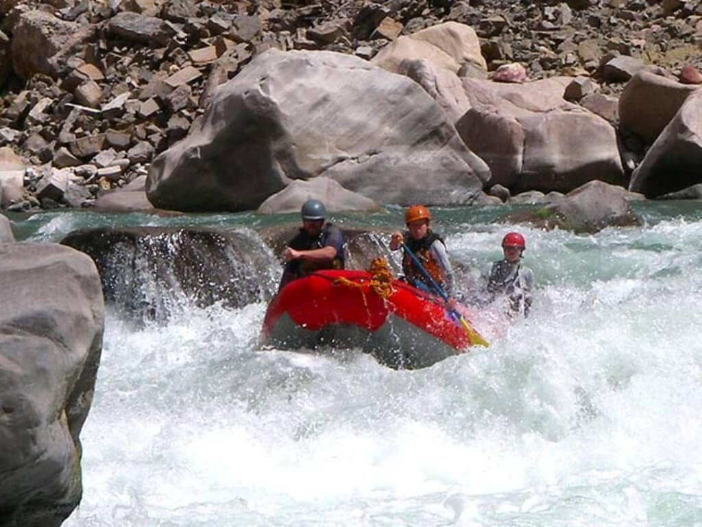 Descente du Canyon Colca en rafting