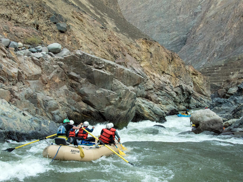 Rio Cotahuasi pour le rafting au Pérou