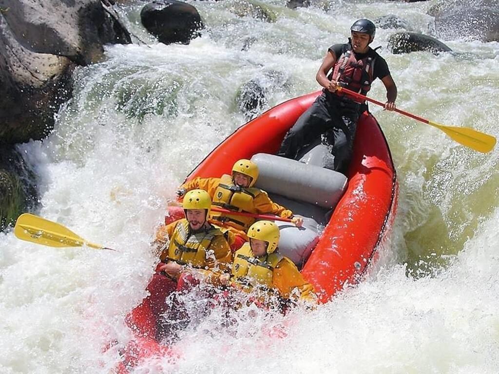 Rafting rivière Colca au Pérou