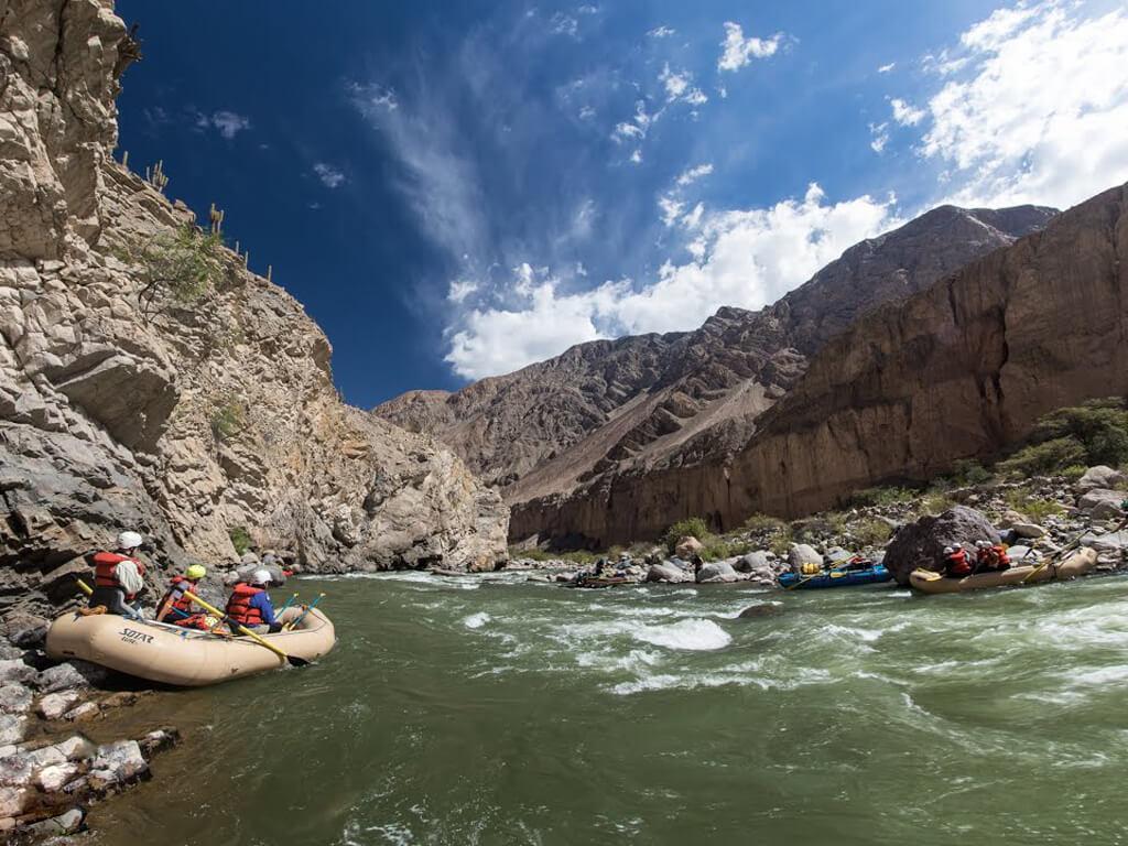 Rafting sur la rivière Cotahuasi au Pérou